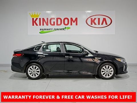 Certified Pre-Owned 2018 Kia Optima S FWD 4D Sedan